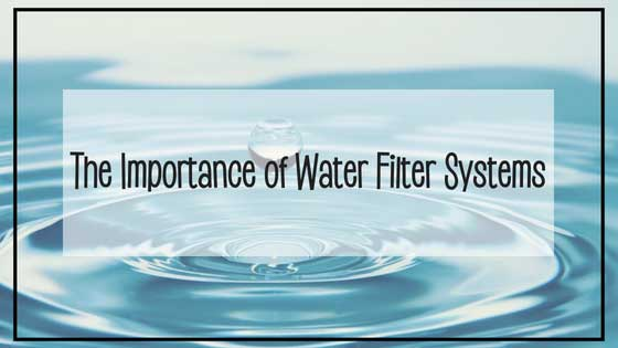 The Importance of Water Filtration Systems