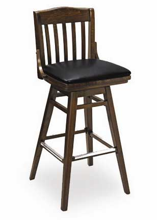 Florida Seating Bar Stool 02BSW-WAL-FLSGR1VIEBO