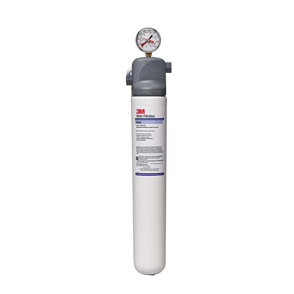 (5616102) 3M Water Filtration Products Water Filter System 21-1/4 Inch H X 4-1/2 Inch D Valve-in-head - BEV135