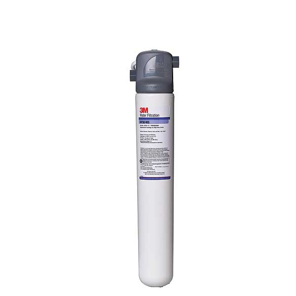 (5616103) 3M Water Filtration Products Water Filter System 19-3/4 Inch H X 4-1/2 Inch D Valve-in-head - BREW130-MS