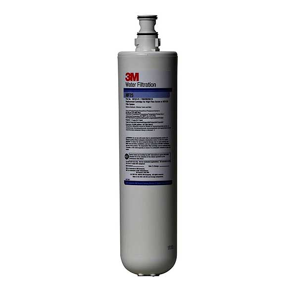 (5615201) 3M Water Filtration Products Replacement Cartridge Standard Length 1 Micron - HF25
