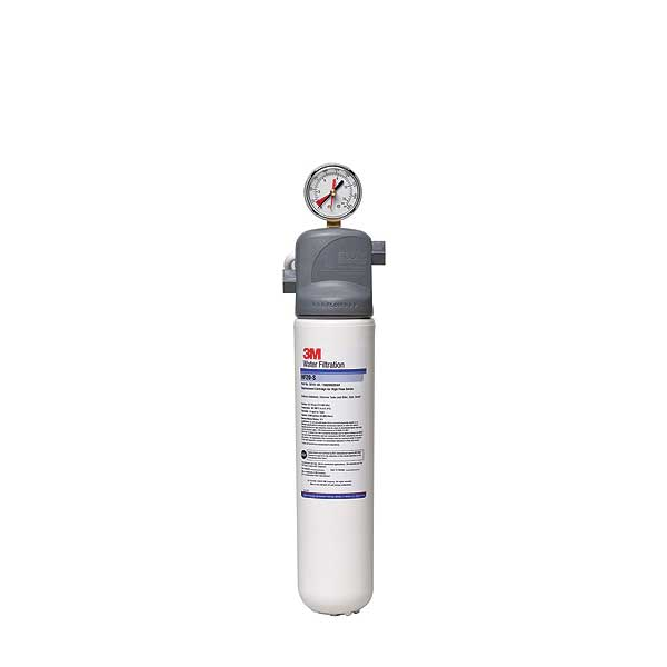 (5616003) 3M Water Filtration Products Water Filter System With Gauge 17 Inch H X 4.5 Inch D - ICE120-S