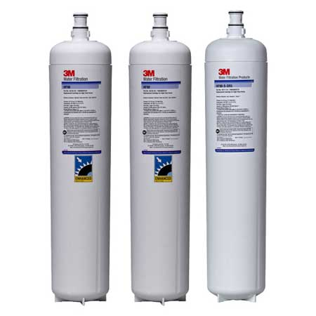 (5613807) 3M Water Filtration Products Replacement Cartridge Kit 0.2 Micron 2.66 GPM Flow Rate (beverage) - CARTPAK DF290-CL
