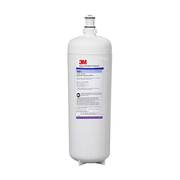 "(5613444) 3M Water Filtration Products Drinking Water Replacement Cartridge 22""H X 4-7/8""D 0.2 Micron - 160-L"