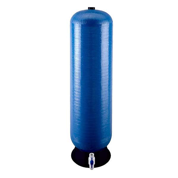 "(5598409) 3M Water Filtration Products Reverse Osmosis Storage Tank 55-1/2""H X 24-1/4"" Dia. 40 Gallons Capacity @ 60 PSI - 40 GALLON RO TANK FRP-5598409"