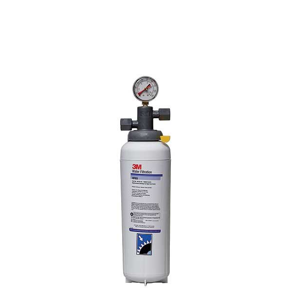 "(5616302) 3M Water Filtration Products Water Filter System With Shut-off Valve 17-5/8""H X 4-3/8""D - BEV165"
