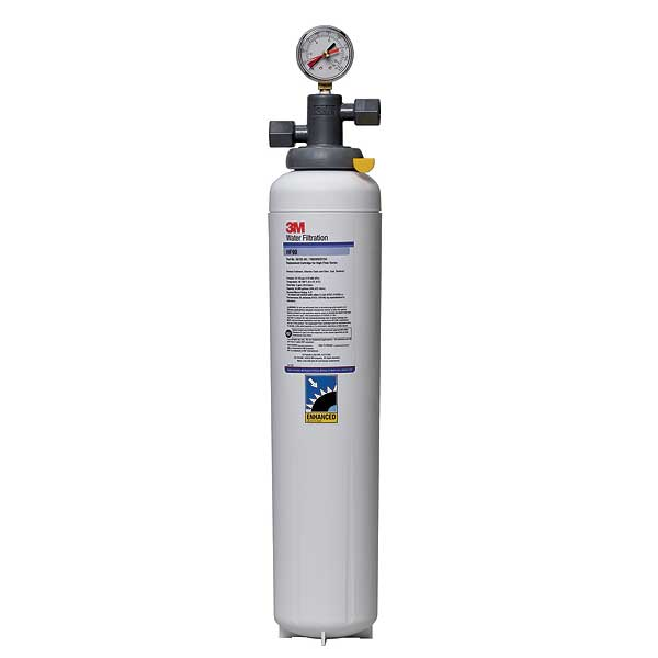 "(5616401) 3M Water Filtration Products Water Filter System With Shut-off Valve 23-5/8""H X 5""D - BEV190"