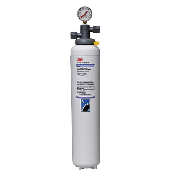 "(5616402) 3M Water Filtration Products Water Filter System With Shut-off Valve 23-5/8""H X 4-3/8""D - BEV195"