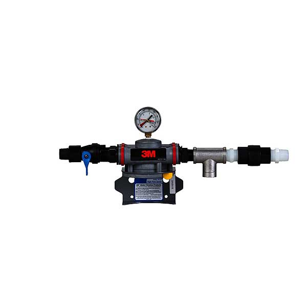 (6228603) 3M Water Filtration Products Dual Port Single Manifold Assembly With Shut-off Valve Single Head - DP1XX
