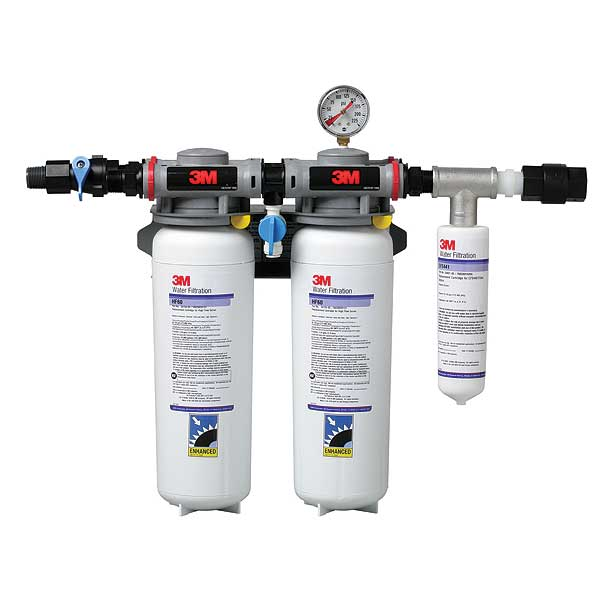(5625501) 3M Water Filtration Products Dual Port Manifold System With Shut-off Valve 0.2 Micron - DP260