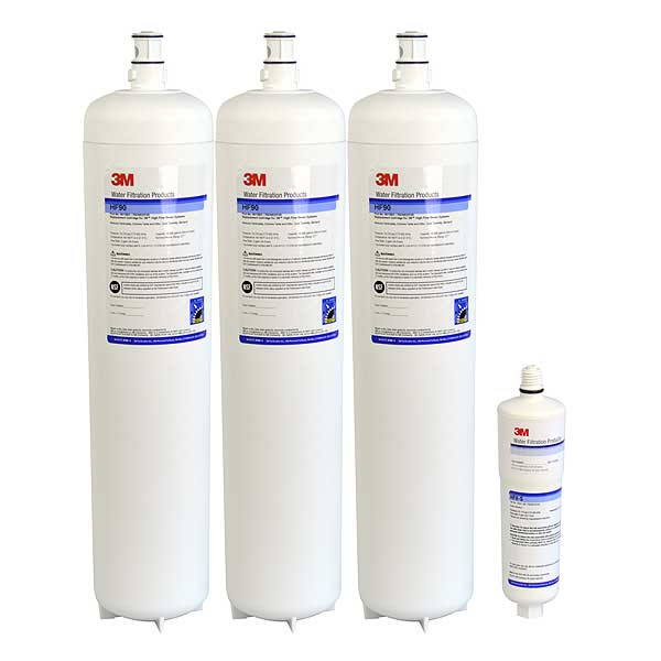 (5613803) 3M Water Filtration Products Replacement Cartridge Kit 0.2 Micron 162,000 Gallons Capacity - CARTPAK DP390