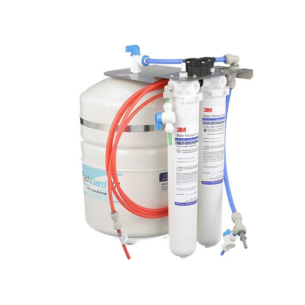 3M (5612306) FlashGard HP Reverse Osmosis Water Filtration System 75 Gpd Capacity Activated Carbon - FSTM-075