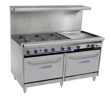 Bakers Pride Vandage 60 Inch Commercial Ranges