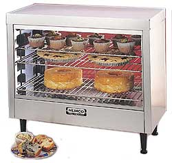 Nemco 6460 Large Heated Display Case