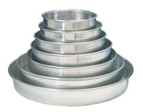 Allied Deep Dish Aluminum Pans, 1-1/2 Inches Deep
