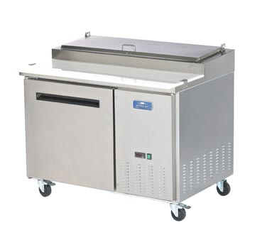 Arctic Air Refrigerated Pizza Prep Table, 1 Section - APP48R