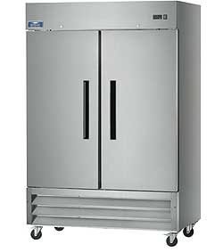 Arctic Air Reach-In Two-Section Refrigerator AR49