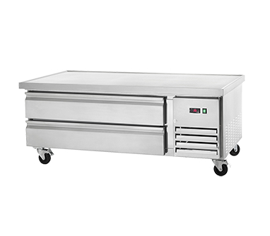 Arctic Air ARCB60 Refrigerated Chef Base Equipment Stand, 62 Inches Wide