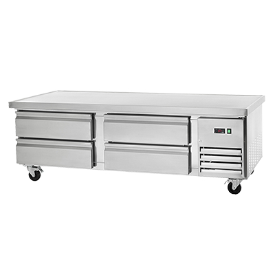 Arctic Air ARCB72 Refrigerated Chef Base Equipment Stand, 74 Inches Wide