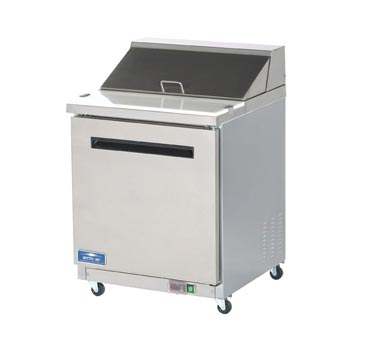 Arctic Air Refrigerated Sandwich/Salad Prep Table, 1 Door - AST28R