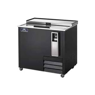 """Arctic Air AUB36R Bottle Cooler, One-Lid, 37"""" Wide, Holds 11 Cases"""