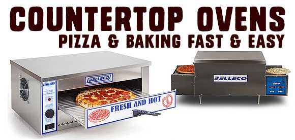 Countertop Pizza and Baking Ovens