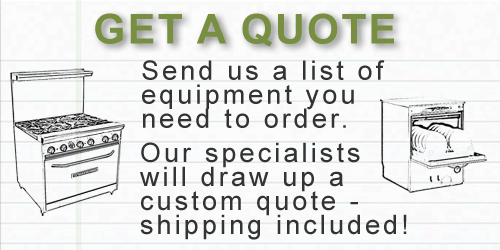 Cooking Equipment Quote
