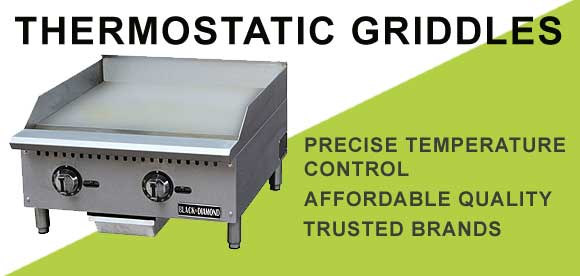 Thermostatic Griddles