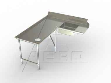 AERO Mfg. Aerospec Dishtable soiled - 2SDI-L-144