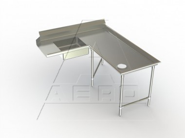 AERO Mfg. Aerospec Dishtable soiled - 2SDI-R-144