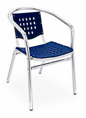 Florida Seating Chair AL-03-BLUE
