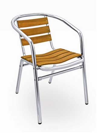 Florida Seating Chair AL-302 TEAK