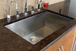 A-Line Trend 90 Degree Angle Single Bowl Undermount Sinks