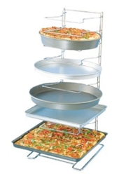 American Metalcraft 11 Shelf Standard Pizza Pan Rack 19030