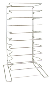 American Metalcraft 10 Shelf Oversized Pizza Pan Rack 19033