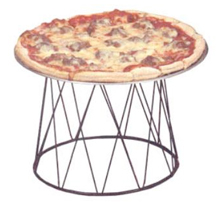American Metalcraft Contempo Drum Pizza Stand