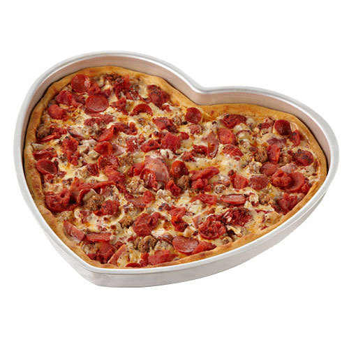 American Metalcraft Heart Shaped Pizza Pan
