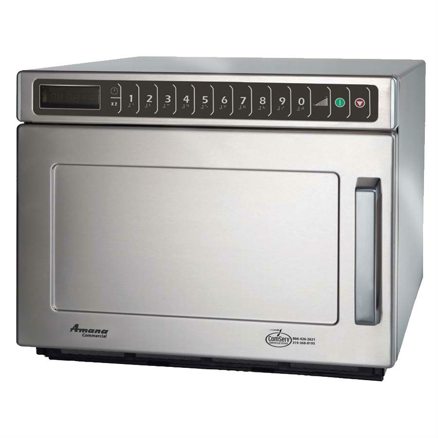 Amana Heavy Volume Commercial Microwave Oven HDC18SD2, 1800 Watts