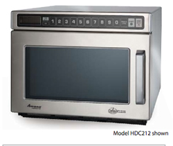 Amana Heavy Volume Commercial Microwave Model HDC212