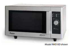 Amana Light Duty Commercial Microwave Model RMS10D