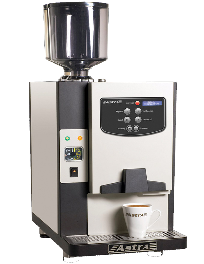 Astra Office Elite Fully Automatic Commercial Espresso Cappuccino Machine - OE 09