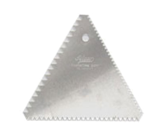 Ateco Three-Sided Pastry Decorating Comb
