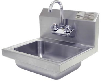 Advance Tabco  Wall Mount Hand Sink 7-PS-EC-1X
