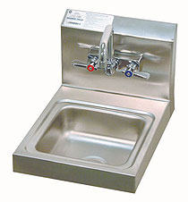 Advance Tabco Space Saver Sink