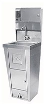 Advance Tabco Stainless Pedestal Sink - 7-PS-99