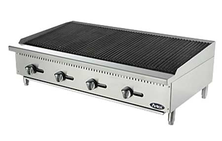 Atosa Cook Rite Radiant Charbroiler 48 Inch Atrc 48