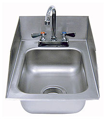 Advance Tabco Drop-in Hand Sink w/Side Splash - DI-1-5SP