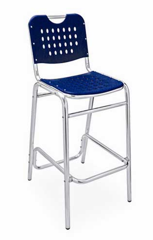 Florida Seating Bar Stool BAL-03-BLUE