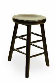 Florida Seating Bar Stool BB-24-SS-WALNUT