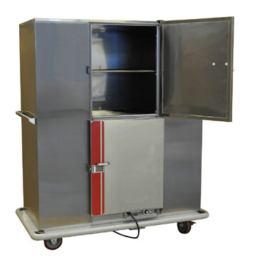 Carter-Hoffmann Heated Banquet Cart BB200D